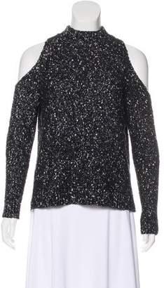 Rebecca Taylor Heavy Cutout Sweater