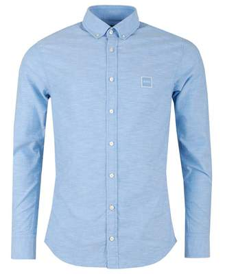 BOSS Casual Mabsoot Slim Fit Oxford Logo Shirt