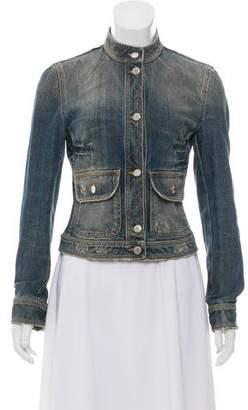 Dolce & Gabbana Distressed Denim Jacket