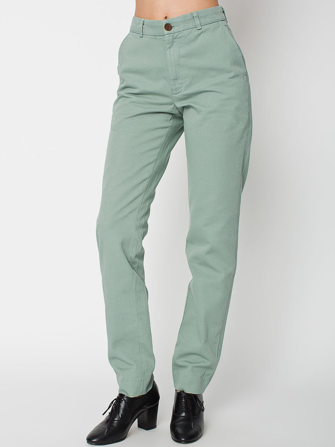 American Apparel Unisex Relaxed Chino