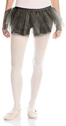 Gia Mia Dance Women's Glitter Tulle Tutu Skirt Ballet Dance Costume Studio Practice Performance