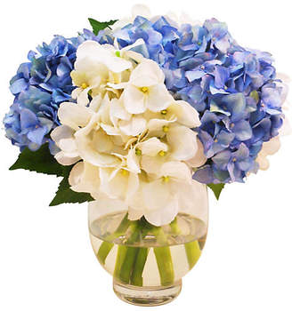 "13"" Hydrangea in Vase - Faux - The French Bee"