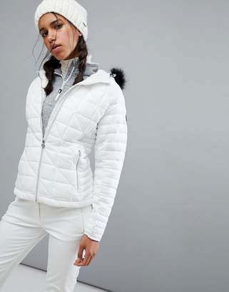 Dare 2b Dare2be Endow Padded Ski Jacket With Fur Hood