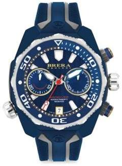 Brera Orologi Pro Diver Swiss Quartz Strap Watch