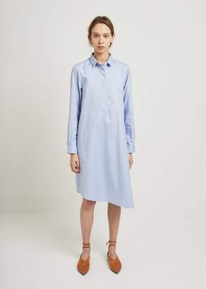 Lutz Huelle Oxford Cotton Shirt Dress