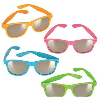 DollarItemDirect NEON COLOR SUNGLASSES WITH MIRROR LENS, Case of 156