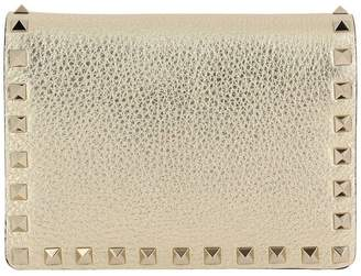 Valentino GARAVANI Mini Bag Rockstud Spike Mini Crossbody Bag In Laminated Leather With Thin Chain Strap