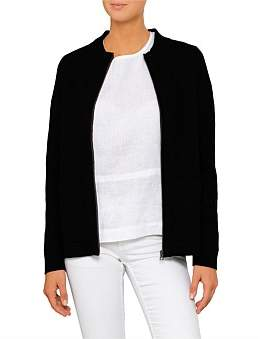 David Jones Milano Zip Thru Cardigan