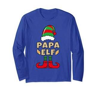 Christmas Elf Shirt For Dad - Papa Elf Long Sleeve Shirt