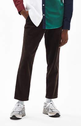 PacSun Slim Taper Corduroy Brown Pants