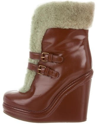 Marc by Marc Jacobs Wedge Ankle Boots