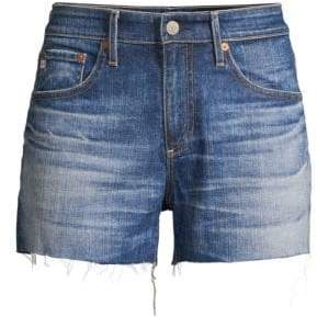 AG Jeans Women's Hailey Cut-Off Denim Shorts - Blue - Size 24 (0)