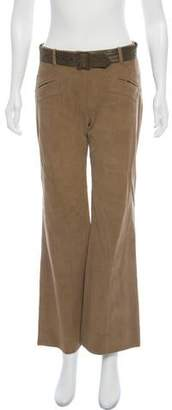 Martin Grant Mid-Rise Wide-Leg Pants