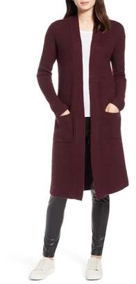 Halogen Long Open Front Cardigan