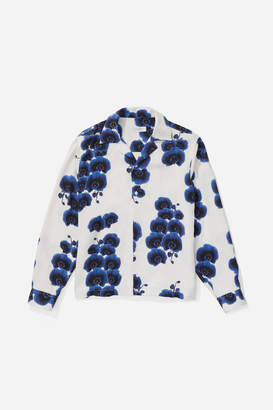 Saturdays NYC Marco Orchid Button Down Shirt