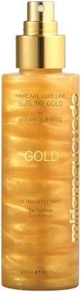 styling/ Miriam Quevedo SPACE.NK.apothecary Miriam Quevado Ultrabrilliant Sublime Gold Lotion Spray