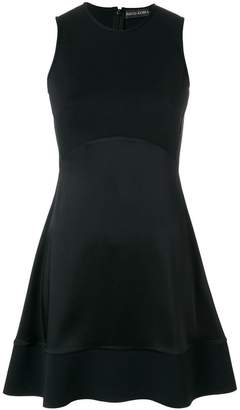 David Koma flared sleeveless mini dress