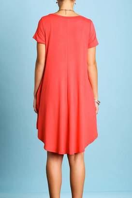 Umgee USA Short Sleeve Dress