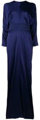 Max Mara micro stud embellished dress