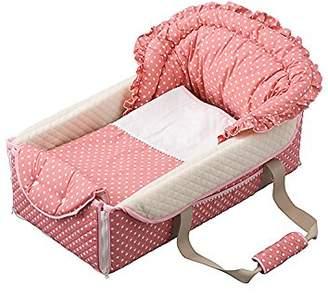 フジキ バッグdeクーファン ラブリードットピンク OC-784 バッグ お昼寝マット クーファン 0か月