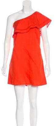Tory Burch One-Shoulder Mini Dress w/ Tags
