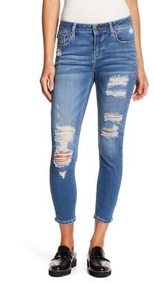 Vigoss Marley Distressed Super Skinny Jeans
