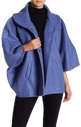Luma Poncho Sleeve Coat