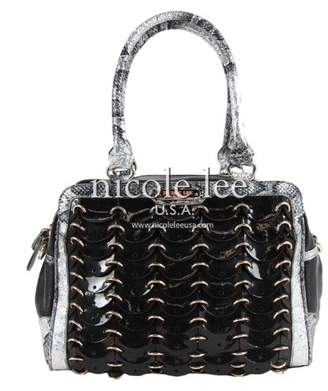 Nicole Lee Grechen Circular Chained Hobo Bag