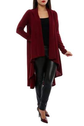 Marvy Fashion Draped Front Cardigan
