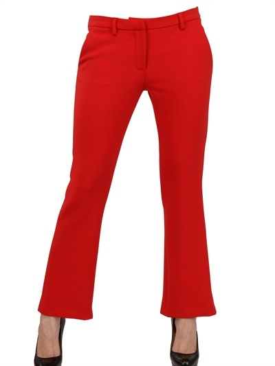 MSGM Techno Wool Two Way Stretch Trousers