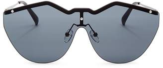 Le Specs Women's Noir de Vie Shield Sunglasses, 143mm