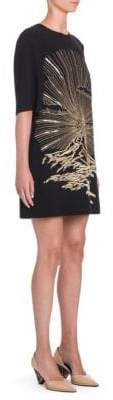 Stella McCartney Embroidered Shift Dress