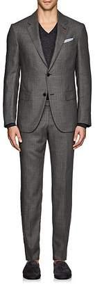 Ermenegildo Zegna Men's Milano Easy Herringbone Cashmere Two-Button Suit