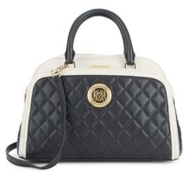 Love MoschinoQuilted Top Handle Bag