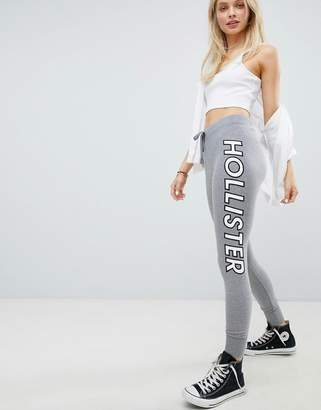 Hollister Taped Logo Cuffed Sweatpant