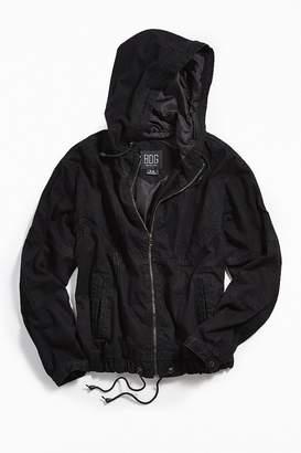 BDG Denim Hooded Car Coat