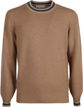 Brunello Cucinelli Ribbed Hem Round Neck Sweater