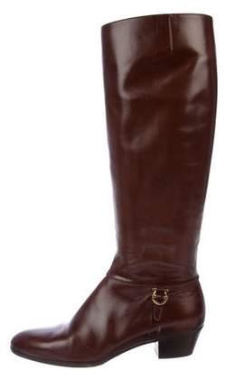 Salvatore Ferragamo Tedesca Knee-High Boots