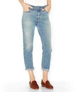 Women's Levi's Cuffed Boyfriend Jeans $54.50 thestylecure.com
