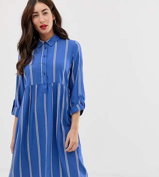 Mama Licious Mama.Licious Mamalicious nursing stripe shirt dress