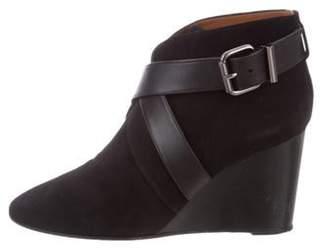 Aquatalia Tillie Suede Wedge Boots Black Tillie Suede Wedge Boots