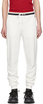 Moncler White Retro Lounge Pants