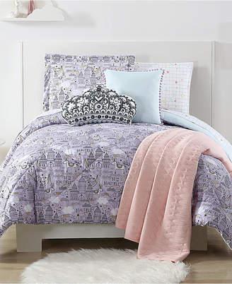 Laura Hart Kids Unicorn Princess Reversible 2-Pc. Printed Twin Xl Comforter Set Bedding