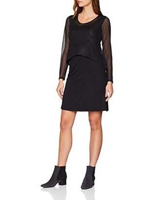 Esprit Women's Dress Mix Nursing ls (Black 001), (Size of : M)