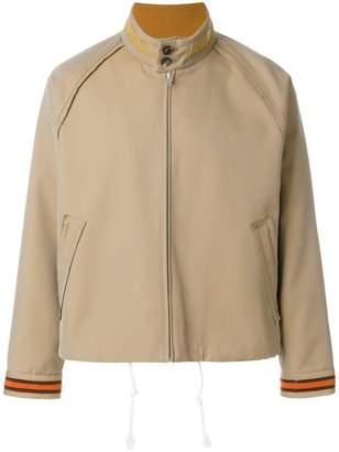 Maison Margiela zipped fitted jacket
