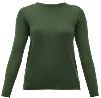 Max Mara Giga Sweater - Womens - Dark Green