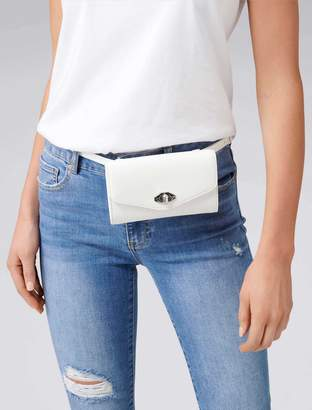 Forever New Shantel Waist Bag - White - 00