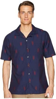 Todd Snyder Short Sleeve Jacquard Shirt Men's Short Sleeve Knit