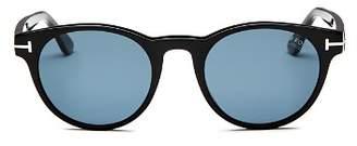 Tom Ford Men's Palmer Retro Round Sunglasses, 51mm