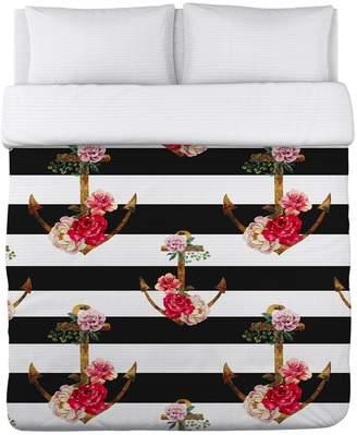 One Bella Casa Anchors Away Lightweight Duvet Cover